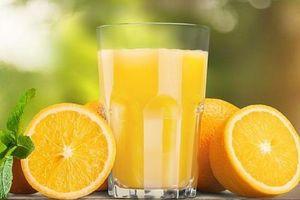 Giảm nguy cơ đột quỵ chết người - chỉ cần 1 ly nước cam mỗi ngày