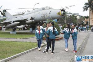 Những chứng tích hào hùng của Phòng không - Không quân Việt Nam giữa lòng Hà Nội