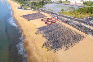 5.000 đoàn viên, thanh niên đồng diễn chào mừng kỷ niệm Ngày thành lập Đoàn