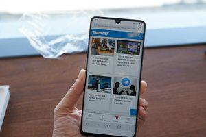 Cận cảnh smartphone P30 Pro trang bị 3 camera vừa ra mắt