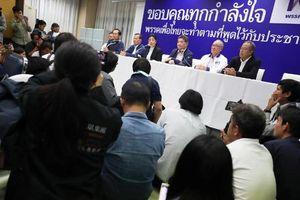 Rối rắm quanh kết quả bầu cử Thái Lan