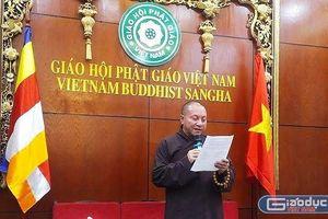 Đại đức Thích Trúc Thái Minh phải sám hối Đại Tăng