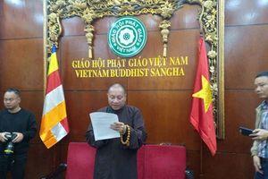 Đề xuất đình chỉ mọi chức vụ đối với trụ trì chùa Ba Vàng