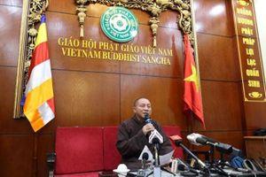 Đề xuất đình chỉ mọi chức vụ của trụ trì chùa Ba Vàng Thích Trúc Thái Minh