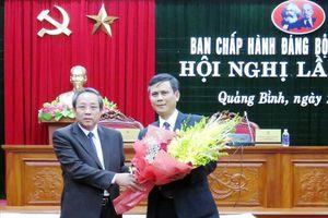 Đồng chí Trần Thắng được bầu giữ chức Phó Bí thư Thường trực Tỉnh ủy Quảng Bình