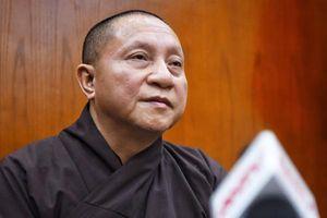 Đề xuất tạm đình chỉ tất cả chức vụ trong GHPGVN đối với Đại đức Thích Trúc Thái Minh