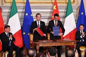 Italy gia nhập Sáng kiến 'Vành đai - Con đường' khiến Mỹ và EU lo ngại