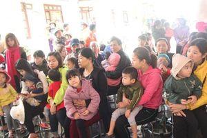 18,5% trẻ Bắc Ninh khám tại Bệnh viện Bệnh nhiệt đới T.Ư dương tính sán lợn