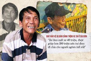 Bác bảo vệ bị dàn cảnh trộm xe SH ở Sài Gòn: 'Tui làm mất xe 40 triệu, được giúp hơn 100 triệu nên tui đem đi chia cho người nghèo hết rồi!'
