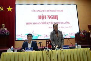 Vụ chùa Ba Vàng: Bà Phạm Thị Yến bị trục xuất khỏi chùa, xử phạt 5 triệu đồng