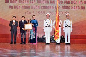 Kỷ niệm 60 năm và đón nhận Huân chương Lao động hạng Ba