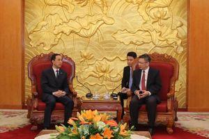 Hội CTĐ Trung Quốc làm việc với Ban Đối ngoại TW ĐCS Việt Nam