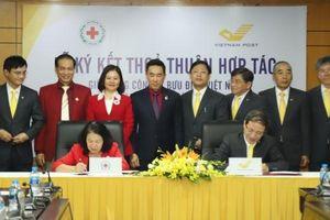 Hội Chữ thập đỏ Việt Nam và Vietnam Post thỏa thuận hợp tác nhiều chương trình nhân đạo