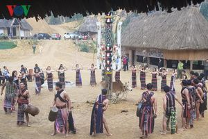 Quảng Nam bảo tồn các giá trị văn hóa đồng bào Cơ Tu để làm du lịch