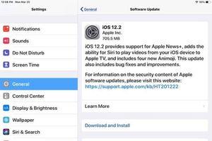 Vì sao nên cập nhật iOS 12.2 ngay cho iPhone?