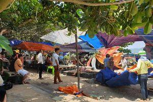 Đà Nẵng: Tiến hành tháo dỡ hàng quán xây dựng trái phép tại ghềnh Nam Ô