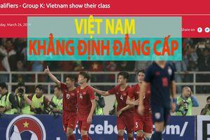 U.23 Việt Nam thắng đậm U.23 Thái Lan 4-0, báo chí châu Á nói gì?