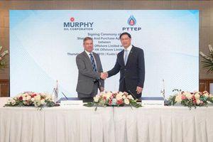 PTTEP mua lại danh mục đầu tư của Murphy Oil tại Malaysia với giá 2,1 tỷ USD