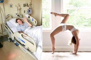 Người phụ nữ bị xé rách động mạch cổ khi cố tập Yoga