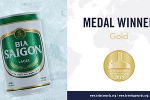 SABECO vinh dự đạt Huy chương vàng tại Giải thưởng Bia Quốc tế 2019