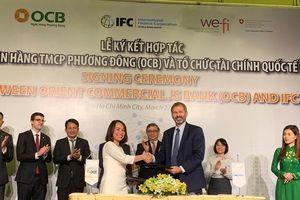 IFC tài trợ 100 triệu USD giúp OCB mở rộng tín dụng cho SMEs