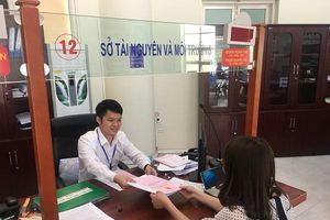 Sở TN&MT Sơn La tăng 10 bậc xếp hạng chỉ số CCHC năm 2018