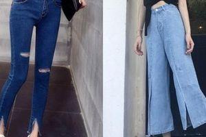 6 kiểu quần jeans sẽ thống trị và 'làm mưa làm gió' trong năm 2019