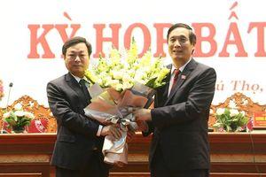 Đồng chí Bùi Văn Quang được bầu giữ chức Chủ tịch UBND tỉnh Phú Thọ