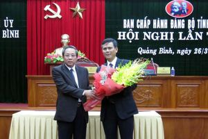 Quảng Bình có tân Phó bí thư Thường trực Tỉnh ủy