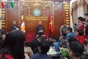 Trụ trì chùa Ba Vàng chịu hình phạt 'Sám hối Đại Tăng'