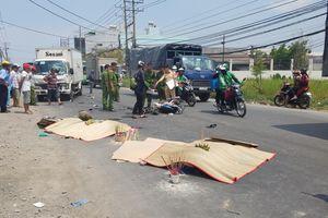 Xe máy đấu đầu ô tô tải, hai vợ chồng trẻ tử vong tại chỗ