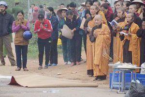Tai nạn thảm khốc ở Vĩnh Phúc: Hỗ trợ mỗi gia đình nạn nhân thiệt mạng 5 triệu đồng