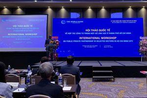 TP HCM tìm cách gỡ 'nút thắt' hợp tác PPP với nhà đầu tư