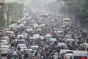 Thí điểm cấm xe máy: Thí điểm tại Hà Nội, TP HCM sau đó tới các TP khác