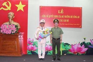 Tây Ninh có giám đốc công an tỉnh mới
