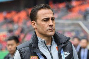 Tương lai HLV Cannavaro ở tuyển Trung Quốc bị đặt dấu hỏi