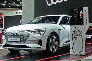 Cận cảnh Audi e-tron, tương lai của hãng xe sang nước Đức