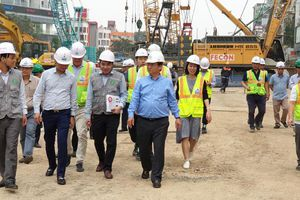 Hoàn thiện thủ tục giải ngân cho Dự án đường sắt Nhổn - Ga Hà Nội