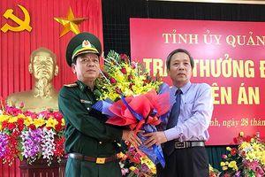Bí thư tỉnh ủy Quảng Bình tặng thưởng Ban chuyên án phá vụ buôn ma túy khủng