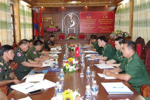 BĐBP Kon Tum, BĐBP Gia Lai và Tiểu khu Quân sự tỉnh Rattanakiri hội đàm bảo vệ biên giới