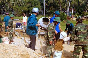 Sơ kết quy chế phối hợp giữa Đảng ủy Đồn Biên phòng Xuân Đài với các xã, phường ven biển