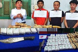 4 đối tượng vận chuyển 110 nghìn viên ma túy tổng hợp 'sa lưới'