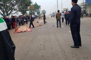 Lái xe khách đâm vào đoàn đưa tang ở Vĩnh Phúc âm tính với ma túy