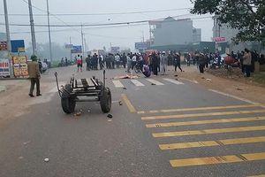 Công an Điện Biên kiểm tra lộ trình, giờ chạy của xe khách tông chết 7 người