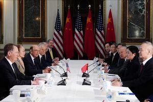 Mỹ-Trung bắt đầu vòng đàm phán thương mại mới