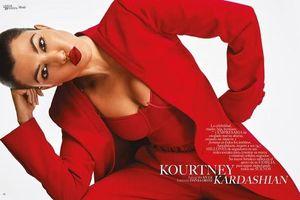 Chị cả 39 tuổi, 3 con của Kim khoe body cực phẩm cùng làn da nâu gợi cảm trên bìa tạp chí