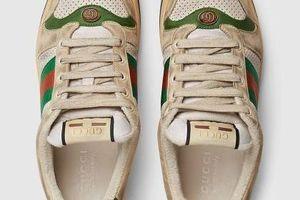 Bạn có dám chi 20 triệu cho đôi giày bẩn này của Gucci?