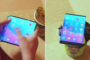 Xuất hiện video về điện thoại Xiaomi màn hình gập