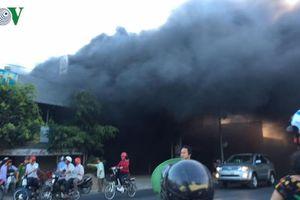 Hỏa hoạn thiêu rụi cửa hàng bảo hành xe gắn máy ở Tiền Giang