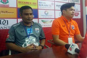 HLV U19 Thái Lan: 'U23 Việt Nam có chiến thắng xứng đáng'